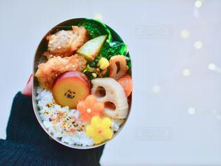 食品のプレートの写真・画像素材[1045416]