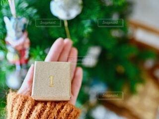 インテリア,手持ち,人物,クリスマス,ポートレート,クリスマスツリー,ライフスタイル,手元,アドベントカレンダー