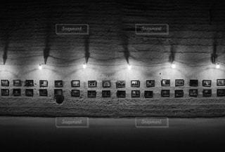 大谷石の採石場の写真・画像素材[2261449]