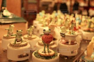 カエルのオルゴールの写真・画像素材[2263283]