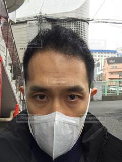 マスクの写真・画像素材[1073306]