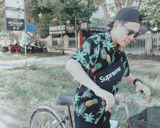 自然,風景,空,夏,自転車,海外,青空,飛行機,帽子,Airport,旅,空港,ベトナム,Sky,ダナン,summer,blue,キャップ,彼氏,vietnam,trip,Hat,bicycle,パートナー