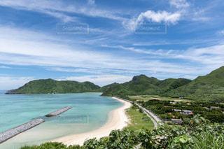 沖縄 渡名喜 東浜の写真・画像素材[2337563]