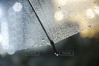 雨の夜の写真・画像素材[1074721]