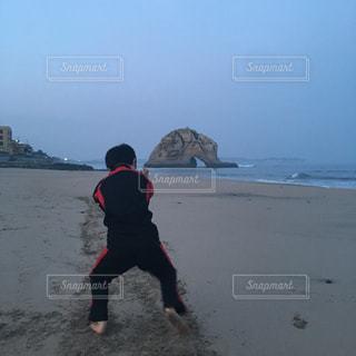 自然,屋外,水面,海岸,相撲,二ッ島,すり足