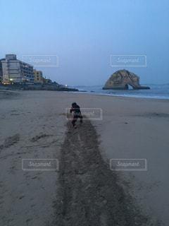 屋外,ビーチ,砂浜,水辺,相撲,トレーニング,二ッ島,すり足