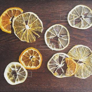 柑橘のドライフルーツの写真・画像素材[1077289]