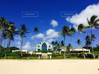 海辺の教会の写真・画像素材[1097666]
