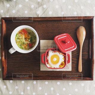 軽めの朝食の写真・画像素材[1160822]