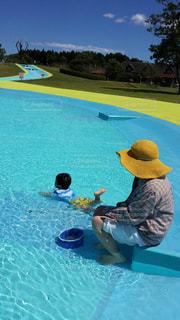 水遊びの写真・画像素材[1452369]