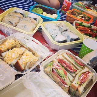 食べ物,秋,食事,ランチ,お弁当,おにぎり,サンドイッチ,料理,お昼,運動会,秋の味覚,食欲の秋