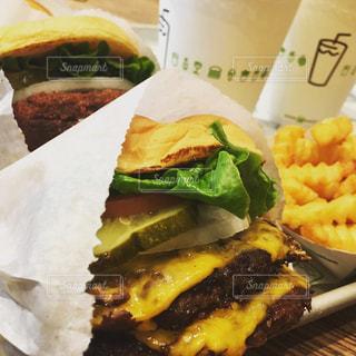 食べ物,秋,食事,ハンバーガー,食,ダブル,食欲の秋