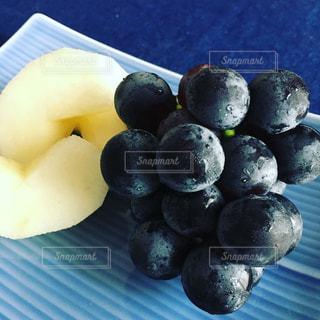 秋の果物の写真・画像素材[1465853]