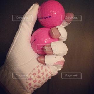 ネイル,屋内,ピンク,手,指,手袋,運動,爪,ゴルフボール,スポーツの秋,指ぬき