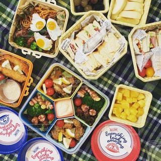 食べ物,秋,食事,ランチ,お弁当,ピクニック,サンドイッチ,運動会,食,応援,食欲の秋,スポーツの秋