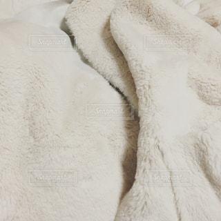 冬,白,コート,ふわふわ,毛布,ホワイト,もふもふ