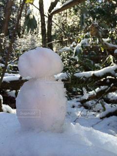 冬,雪,白,雪だるま,ホワイト