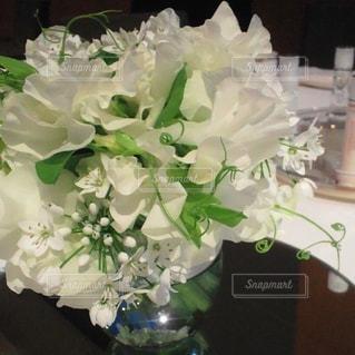 花,白,花束,結婚式,お花,フラワーアレンジ,ホワイト,スイートピー