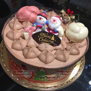 クリスマスケーキの写真・画像素材[1691856]