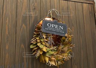 木製のドアの写真・画像素材[2873763]