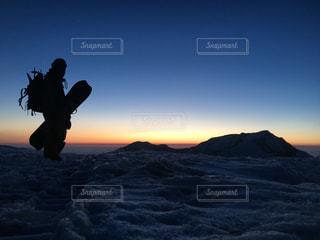 立山サンセットの写真・画像素材[1417333]