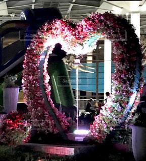 花,ハート,ツリー,飾り,ハートリーフ