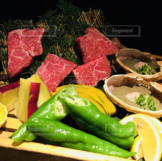食品トレイの写真・画像素材[1213311]