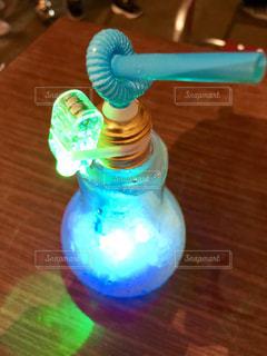電球ソーダの写真・画像素材[1412257]