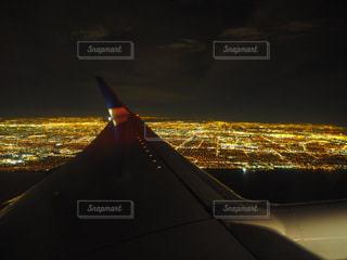 ラスベガス上空からの写真・画像素材[1080357]