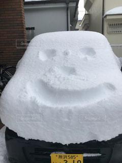 冬,雪,白,スマイル,車,ホワイト