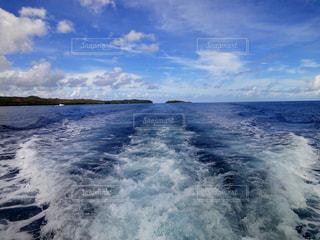 船上からの空の写真・画像素材[1099956]