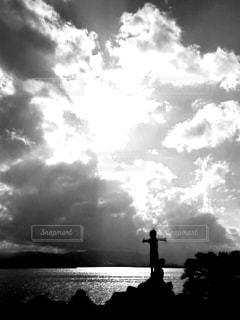 空と僕の間にの写真・画像素材[813656]