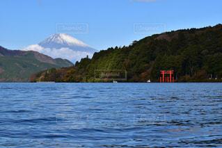 芦ノ湖と富士山の写真・画像素材[1237499]