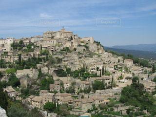 風景,空,海外,青空,ヨーロッパ,街,旅行,フランス,中世,石,眺め,南仏,RPG,ゴルド