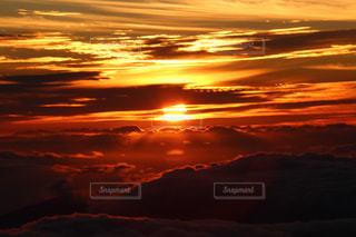 夕日,ハワイ,マウイ島,ハレアカラ国立公園