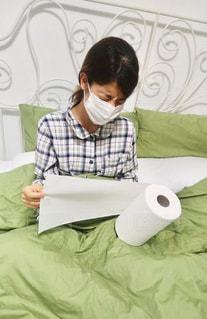 花粉症、毎日つらいな〜〜泣。の写真・画像素材[1089336]