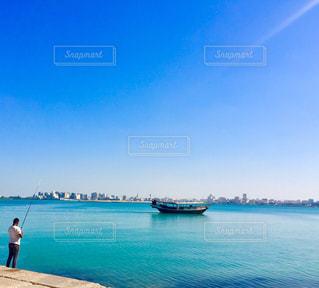 釣り日和🎣🐟の写真・画像素材[1095291]