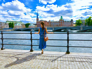 青空のした、綺麗な景色の写真・画像素材[1118138]