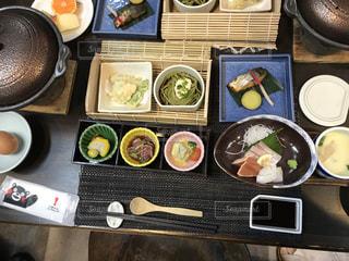 別府温泉夕食の写真・画像素材[1086239]