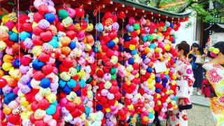 八坂庚申堂、色鮮やかな願いの空間の写真・画像素材[782125]
