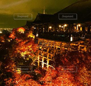 夜の街の景色の写真・画像素材[840470]