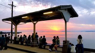 下灘駅の絶景の写真・画像素材[1271287]
