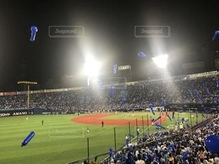 スポーツ,屋外,横浜,横浜スタジアム,応援,ベイスターズ