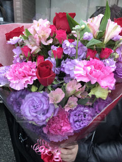 花,ピンク,花束,プレゼント,誕生日,お祝い,カーネーション,母の日,桃色,花屋,ばら,どうぞ
