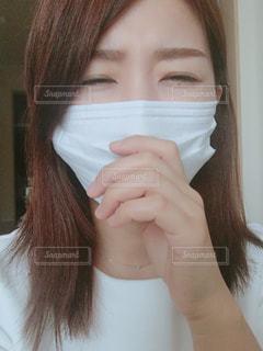 マスクの写真・画像素材[1093601]
