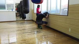 ボクシングジムにての写真・画像素材[1272952]