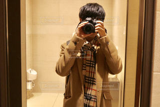 カメラ男子の写真・画像素材[1841082]