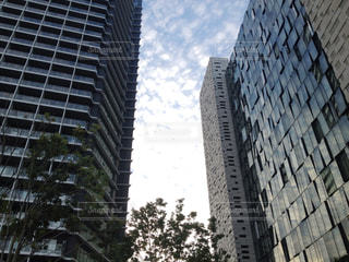 マンションとビルの写真・画像素材[1090348]