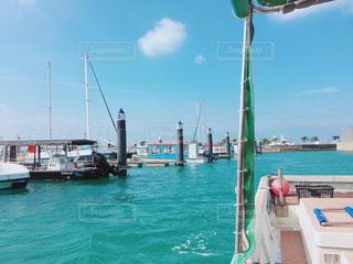 海と空と船と、港の写真・画像素材[1262091]