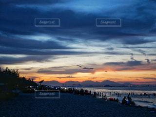 サンセットビーチの写真・画像素材[2330301]